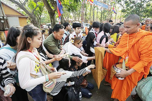 Meak Bochea Day cambodia festivals