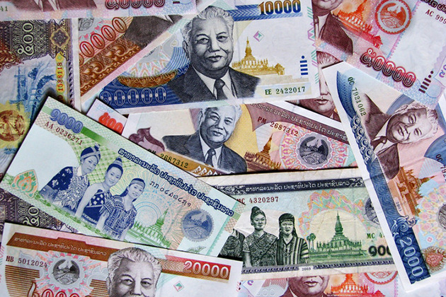 The National Currency In Lao Is Kipthe Kip