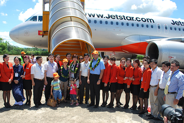 This is what made Da Nang one of three major domestic air hubs of Jetstar Pacific