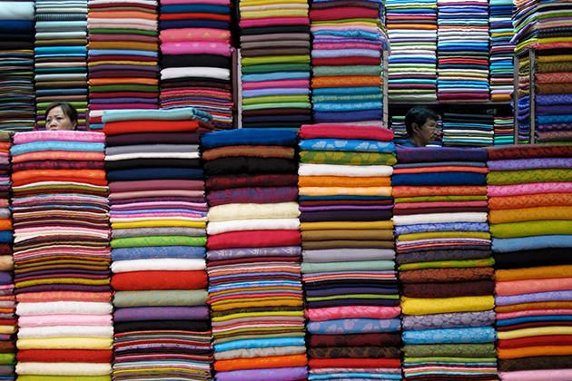 Vietnam's silk is very beautiful