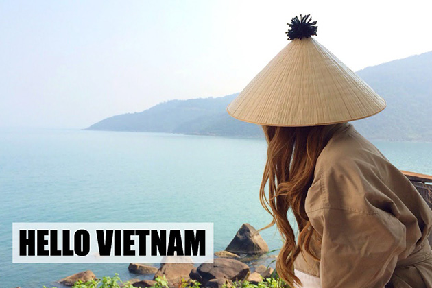 """Xin Chao"" is the way to say Hello in Vietnam"