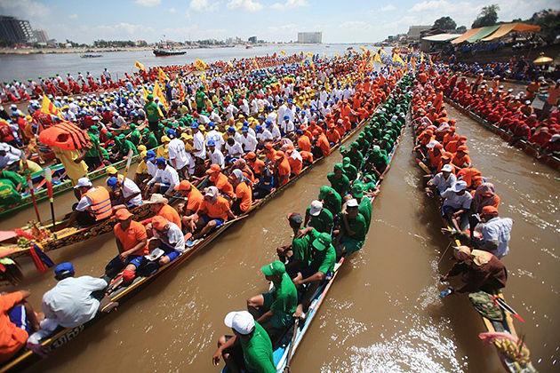 cambodia water festival cambodia festiavals
