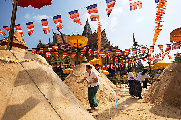 khmer new year cambodia festivals