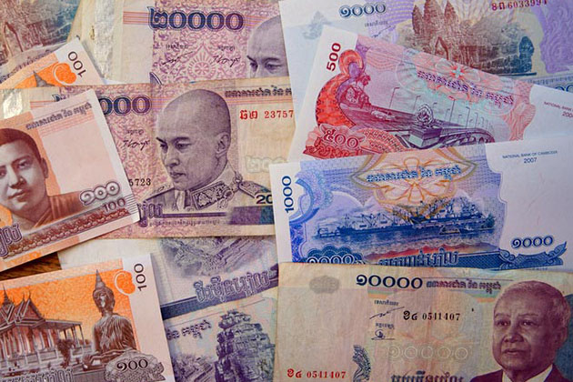 Touring Cambodia, bringing cash is important because credit cards are not accepted in every areas