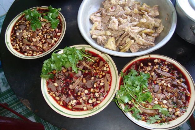 Duck blood pudding Vietnam