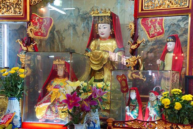 Mazu worshiping in Fujian Assembly Hall