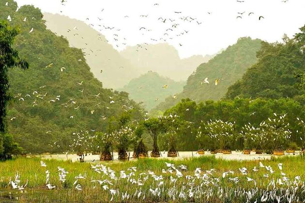 Mesmerizing scenery in Thung Nham Ecotourism