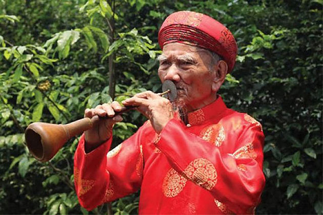 Ken Bau Obeos vietnam traditional musical instruments