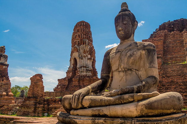 Ayutthaya Bangkok - Southeast Asia 17 Day Trip