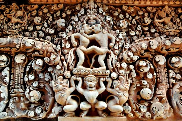 Banteay Srei Temple -17 Day Southeast Asia Tour