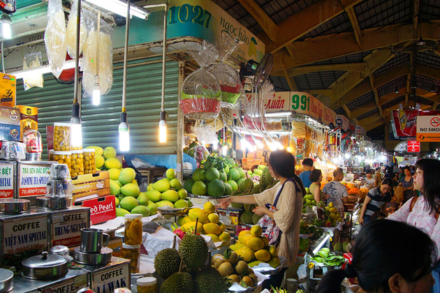 Ben Thanh Market Saigon - Vacations in Southeast Asia