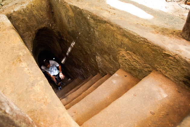 Cu Chi tunnels - Southeast Asia Vacation Paackage 17 Days