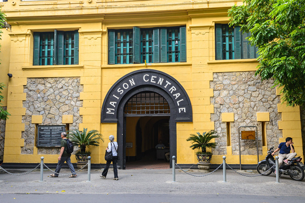 Hoa Lo Prision Museum Hanoi - 17 Days in Southeast Asia