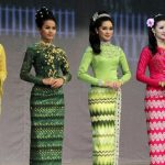 Myanmar National Costume