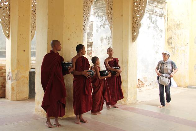 Shwezigon Pagoda Bagan - Southeast Asia Tours