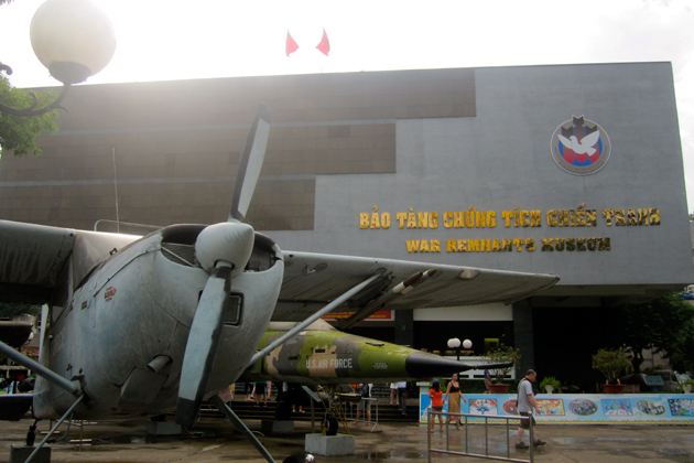 War Remnants Museum Saigon - Southeast Asia vacations