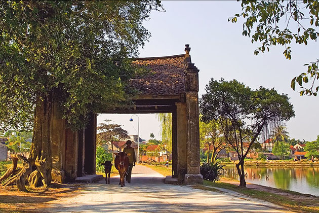 Duong Lam Ancient Village - 23 Days in Vietnam and Cambodia