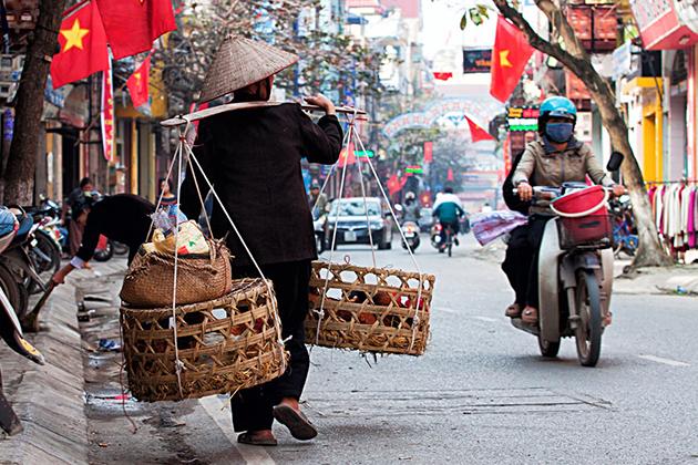 Hanoi Old Quarter - Vietnam Cambodia Tours
