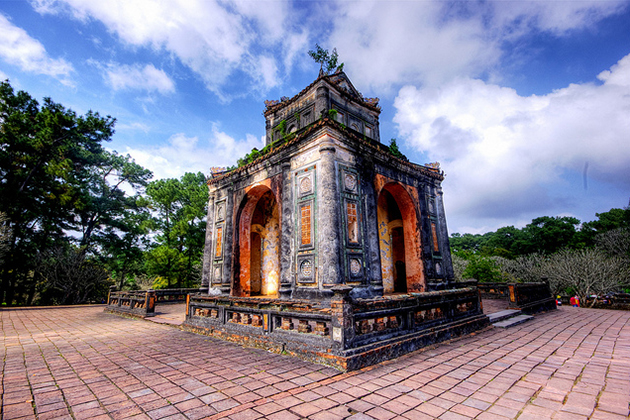 King Tu Duc Tomb Vietnam Cambodia Tour Package