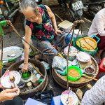Streets food in Hue