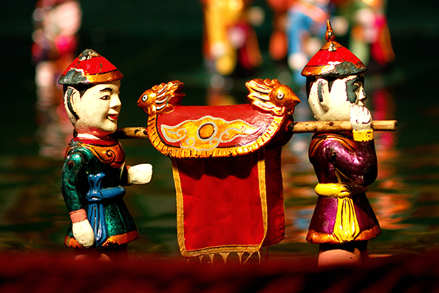 14 Days in Vietnam and Cambodia - Water Puppet Show