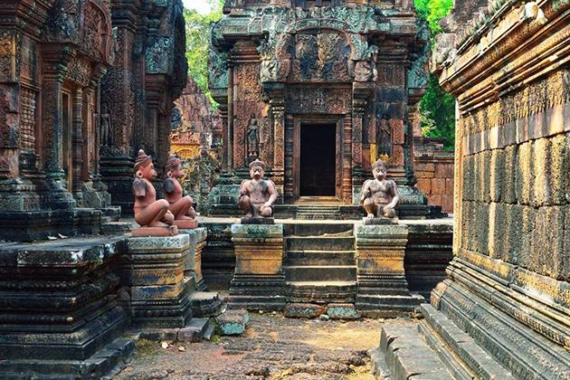 Banteay Srei Temples - Vietnam Cambodia 14 Days