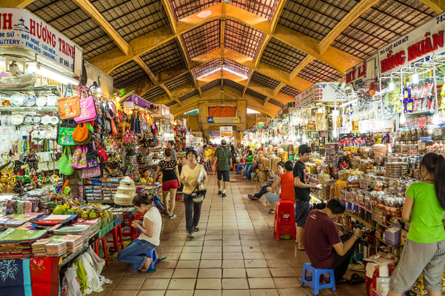 Ben Thanh Market Indochina Trips 14 Days