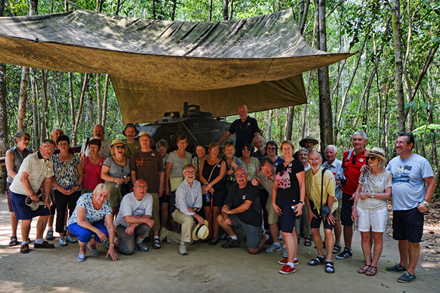 Cu Chi Tunnels - Indochina Trips 21 Days