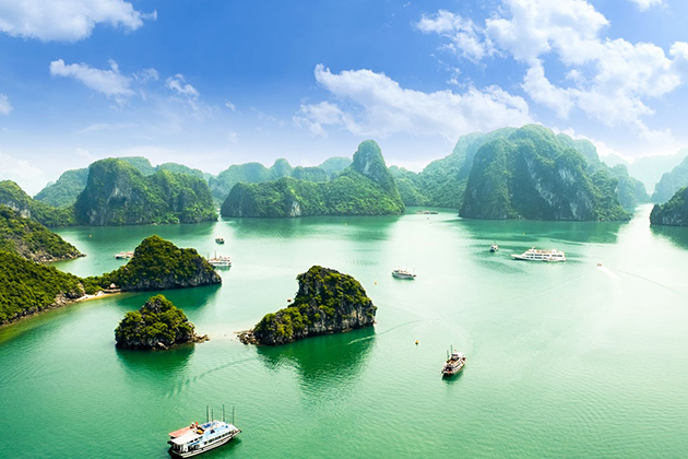 Halong Bay - 2 Week Vietnam Cambodia Itinerary