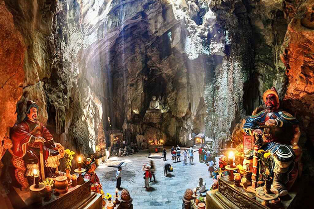 14 Day Tour to Vietnam and Cambodia - Marble Mountains