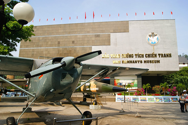Visit War Remnants Museum During 2 Weeks in Indochina