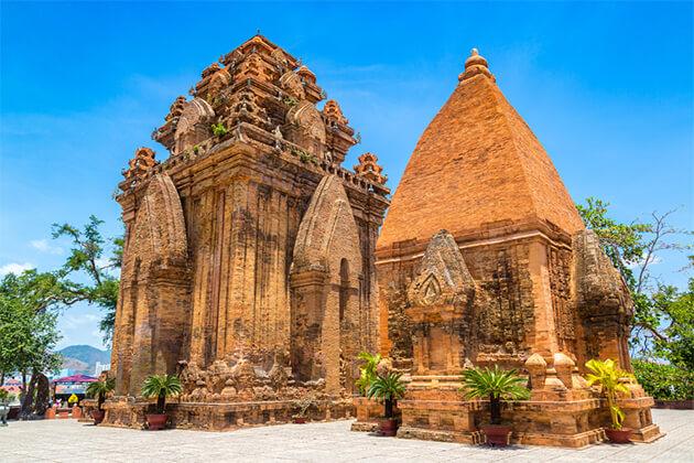 Cham Po Nagar Towers Nha Trang Vietnam Cambodia Tours