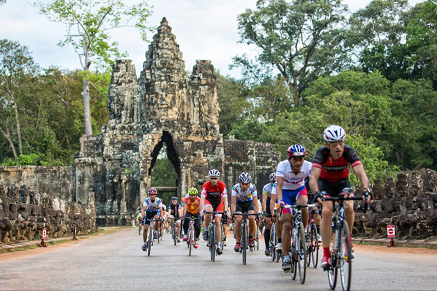 Cycling trip in Siem Reap - Indochina cycling tour