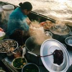 Dishes Served on Boat in Cai Rang Floating Market