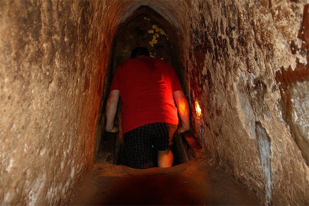Inside Cu Chi Tunnels - 24 Days in Vietnam Cambodia Laos