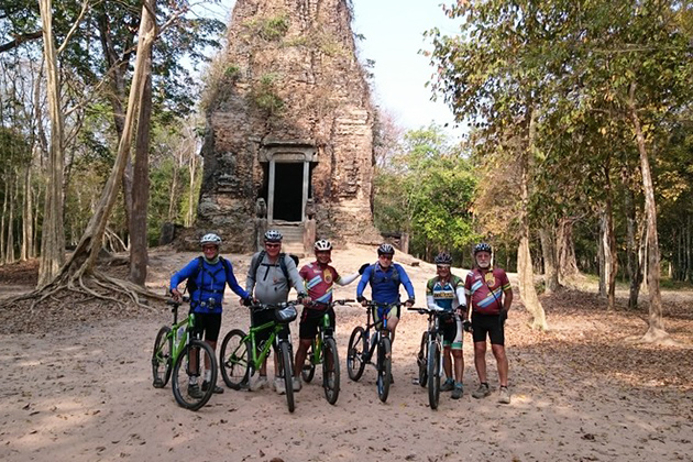 Kampong Thom Cycling Tour Vietnam Cambodia