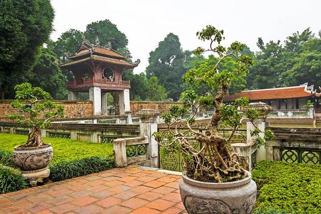 Literature Temple - Most attractive tourist attractions in Vietnam