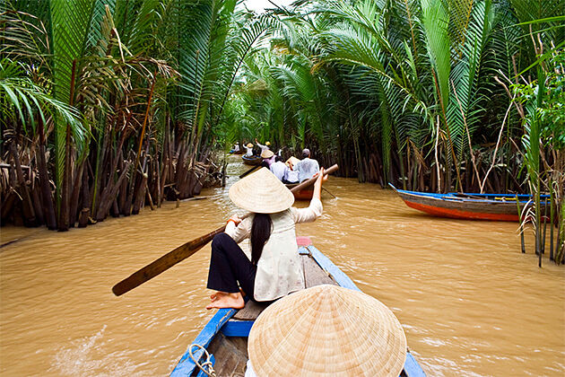 Mekong Delta Boat Tour - 3 Weeks in Vietnam and Cambodia