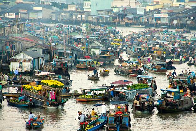Mekong Delta - Most attractive tourist attractions in Vietnam