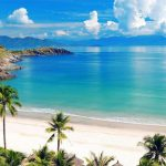 My Khe Beach in Vietnam -Cambodia tour