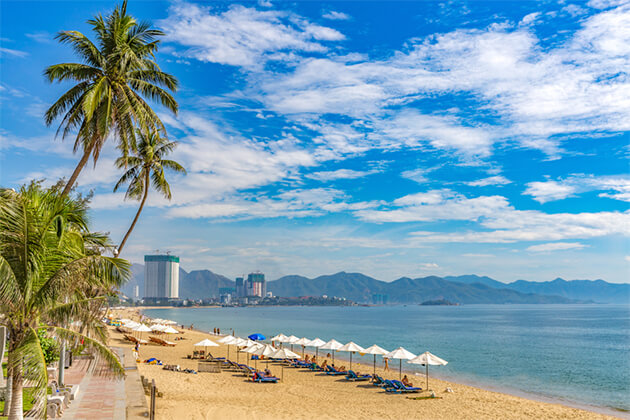 Nha Trang Beach - Cambodia Vietnam 3 Week Trip