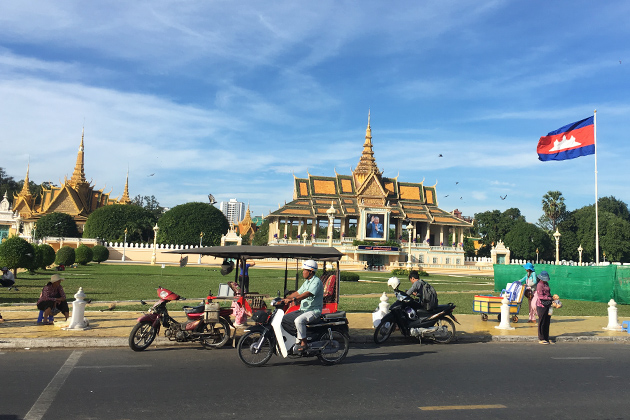 Royal Palace - 10 Days of Vietnam Cambodia Cycling Tour