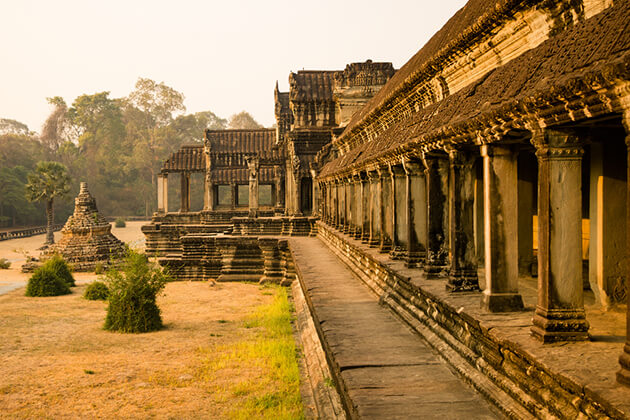 Ruins of Angkor Wat - Vietnam and Cambodia Tour 3 Weeks