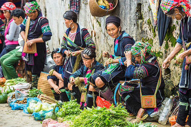 Sapa Market - Indochina in Depth 24 Days