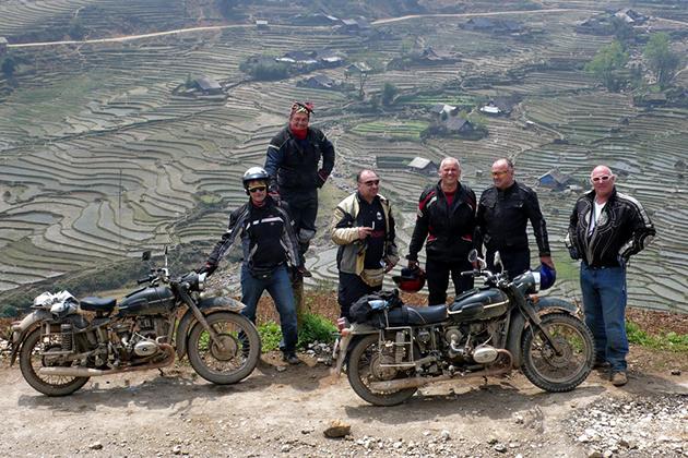 Motorbike travel in Vietnam