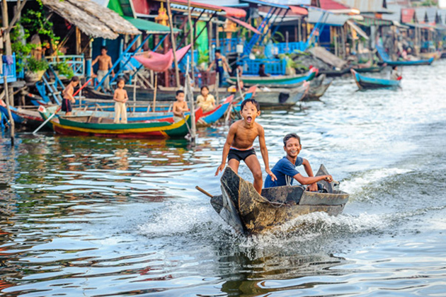 11-day Cambodia & South Vietnam Tour - Tonle Sap Lake