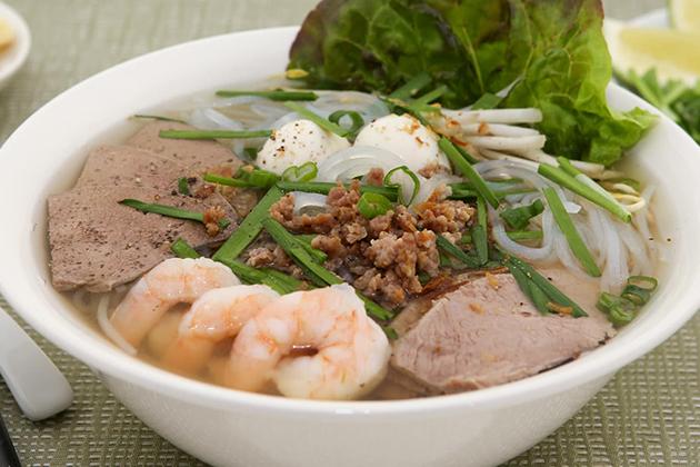 Hu Tieu - Vietnamese Pork and Seafood Noodle Soup