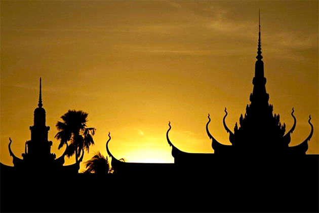 Taboos in pagodas temples Cambodia