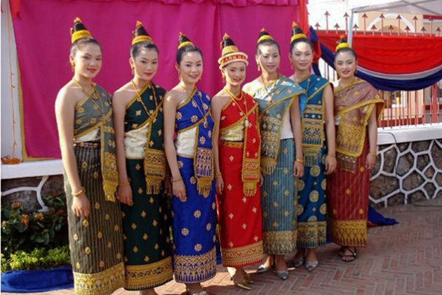 The Traditional Costume of Lao Women