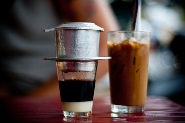 Vietnamese coffee condensed milk